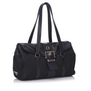 fec1713c9b56 Prada Bags | Authentic Tessuto Nappa Buckle Shoulder Bag | Poshmark